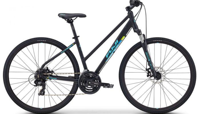 Fuji Bike Traverse Fitnessbike schwarz