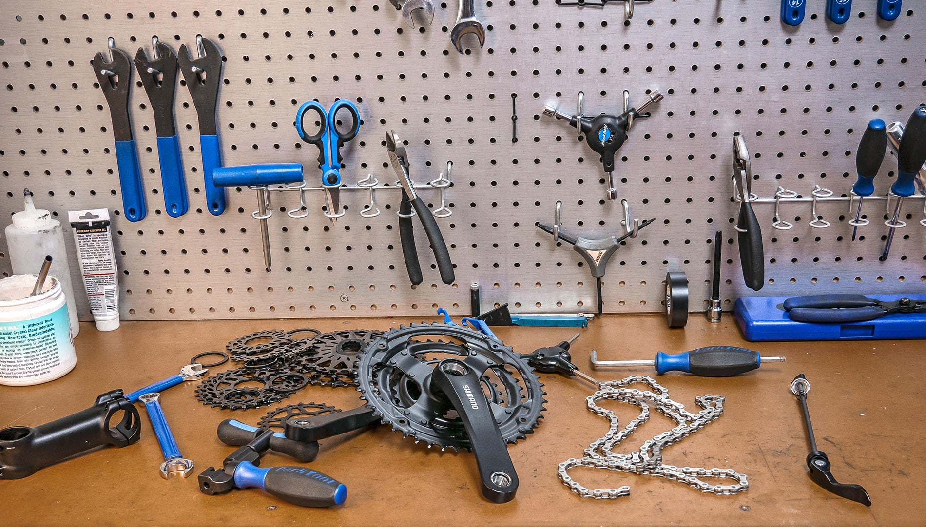 Werkstatt Fahrrad Montage Aufbau Wien