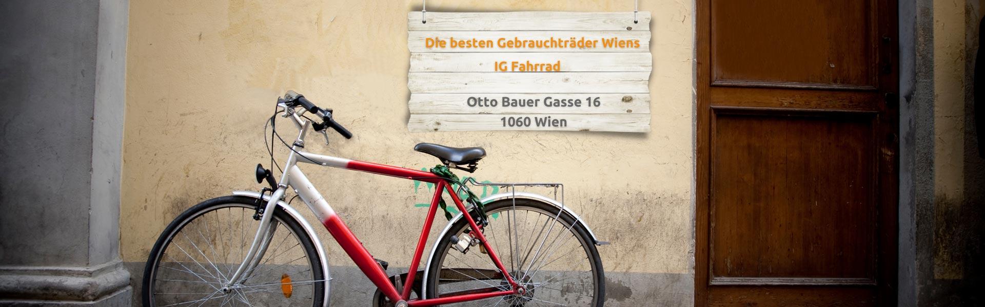 Gebrauchte Fahrräder in Wien 1060